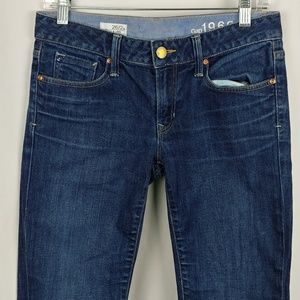 Gap 1969 Long&Lean Boot Denim Jeans Sz 26/2a